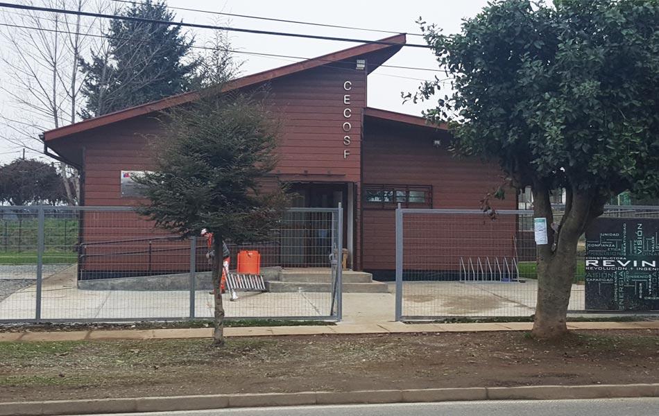 CENTRO COMUNITARIO DE SALUD FAMILIAR, MÁFIL- Reving Constructora Temuco – Diseño, Arquitectura, Ingeniería, Construcción