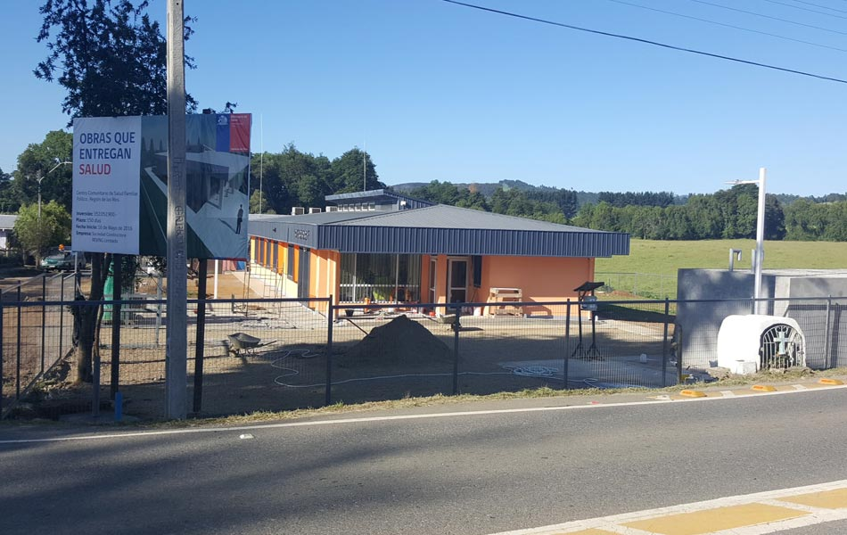 CENTRO COMUNITARIO DE SALUD FAMILIAR FOLILCO (CECOSF) - Reving Constructora Temuco - Diseño, Arquitectura, Ingeniería, Construcción