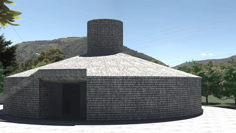 Biblioteca Pública Curerrehue Constructora Reving